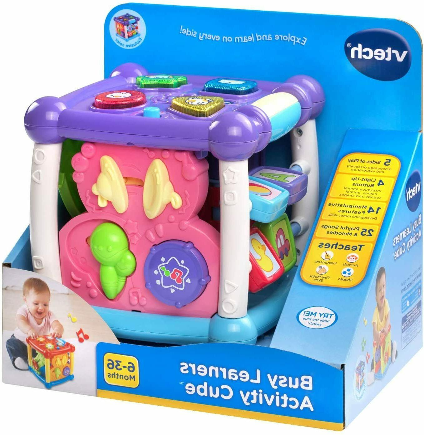 VTech Learners Cube, Purple toys baby boys and girls