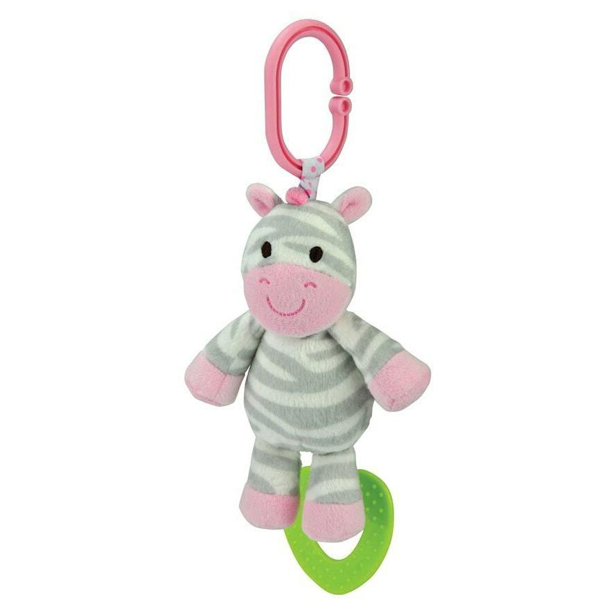 carter s chime and chew zebra teething