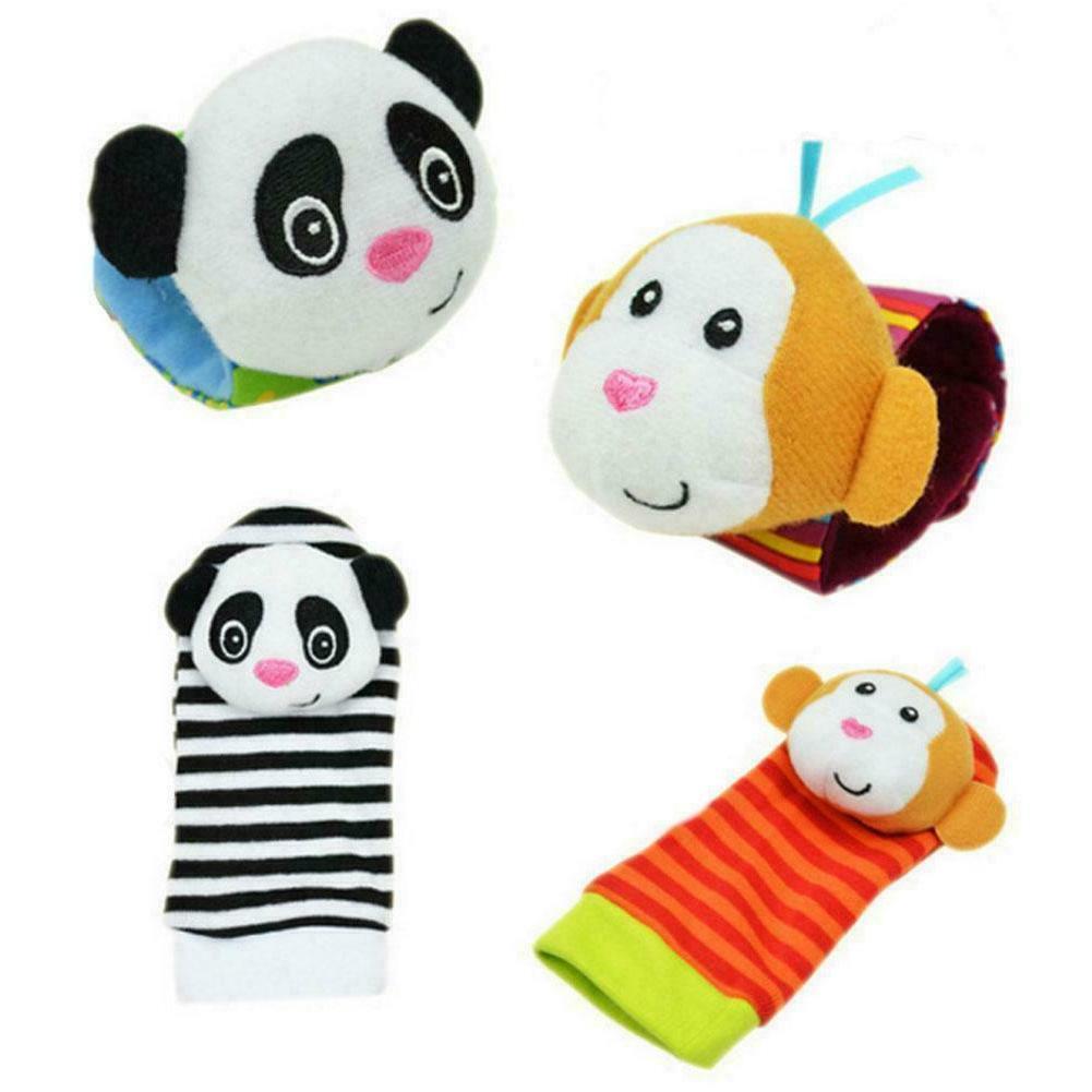 Cartoon Baby Toys 0-12 Rattles Infant