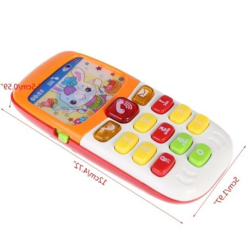 Cartoon Music Phone Toys Electronic Toy
