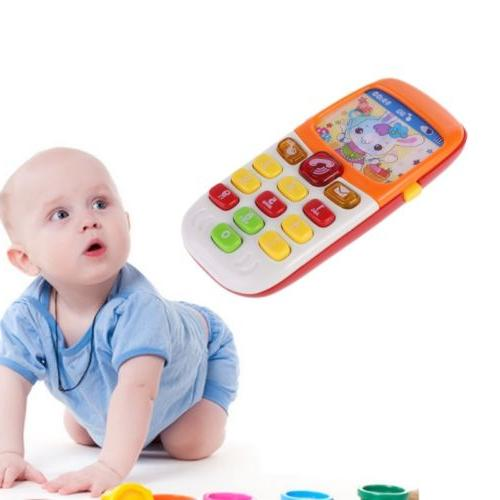 Cartoon Music Phone Baby Toys Electronic Educational Toy