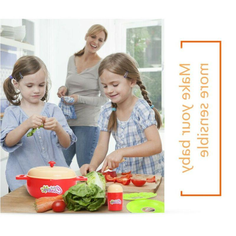 Interesting Kitchen Set For Children's kid cooking toys