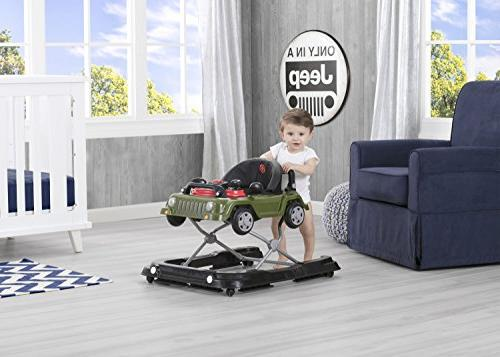 Jeep Wrangler 3-in-1 Activity Walker,