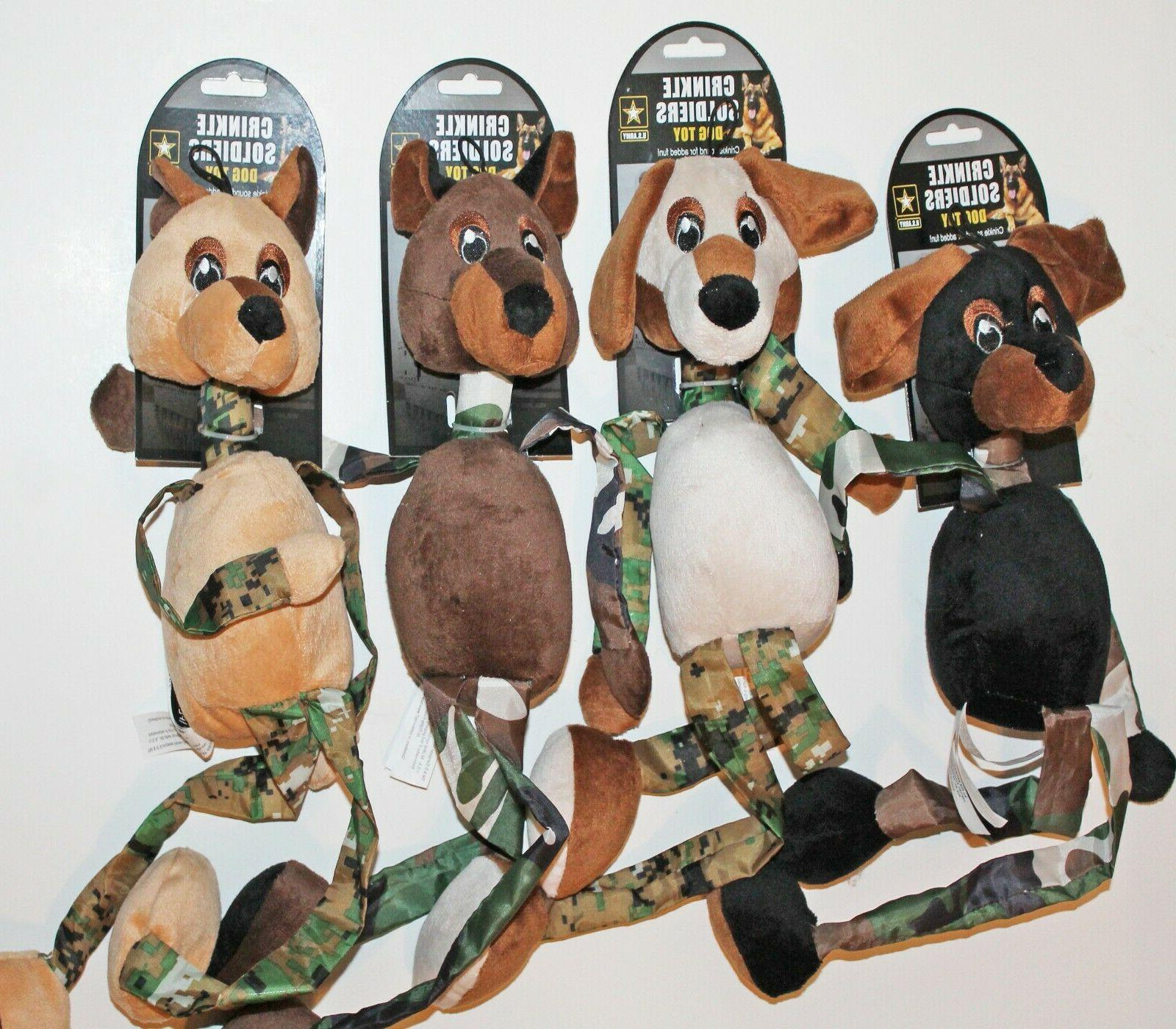 clearance 22 plush crinkle sounds soldiers u