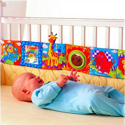 cute infant baby animal cloth book bed
