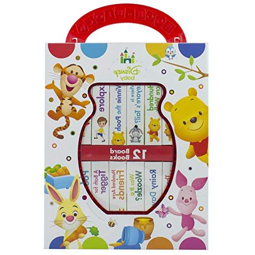 disney baby winnie pooh first library book block kids