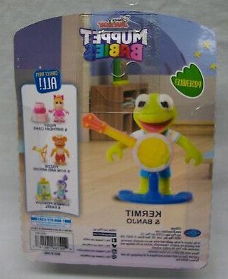 Disney Jr. Muppet Babies BABY KERMIT 2 TOY FIGURE NEW