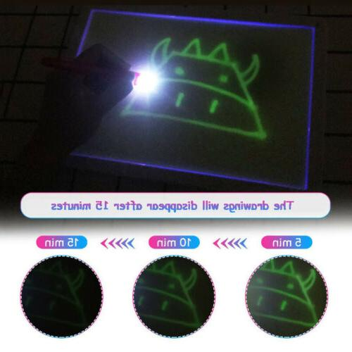 Draw With Light Board Magic Educational Gift