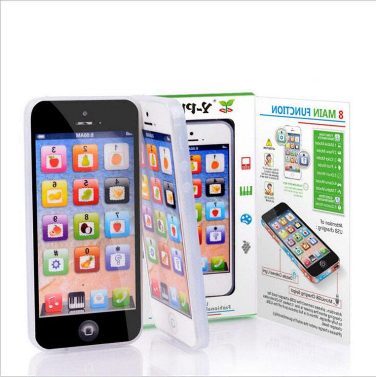Educational Electronic Learning Toddler iPhone For Boys