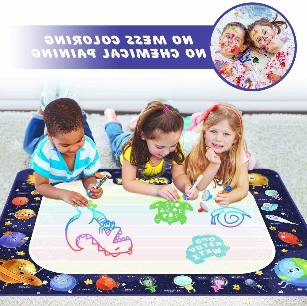 Educational Toys Age 2 5 6 Years Old Girl Water Mat