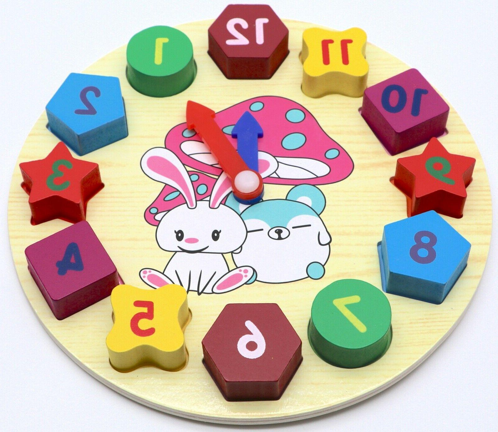 Educational Learning Puzzle Play Toddlers Baby