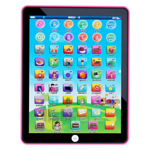 educational toys baby tablet for 1 6