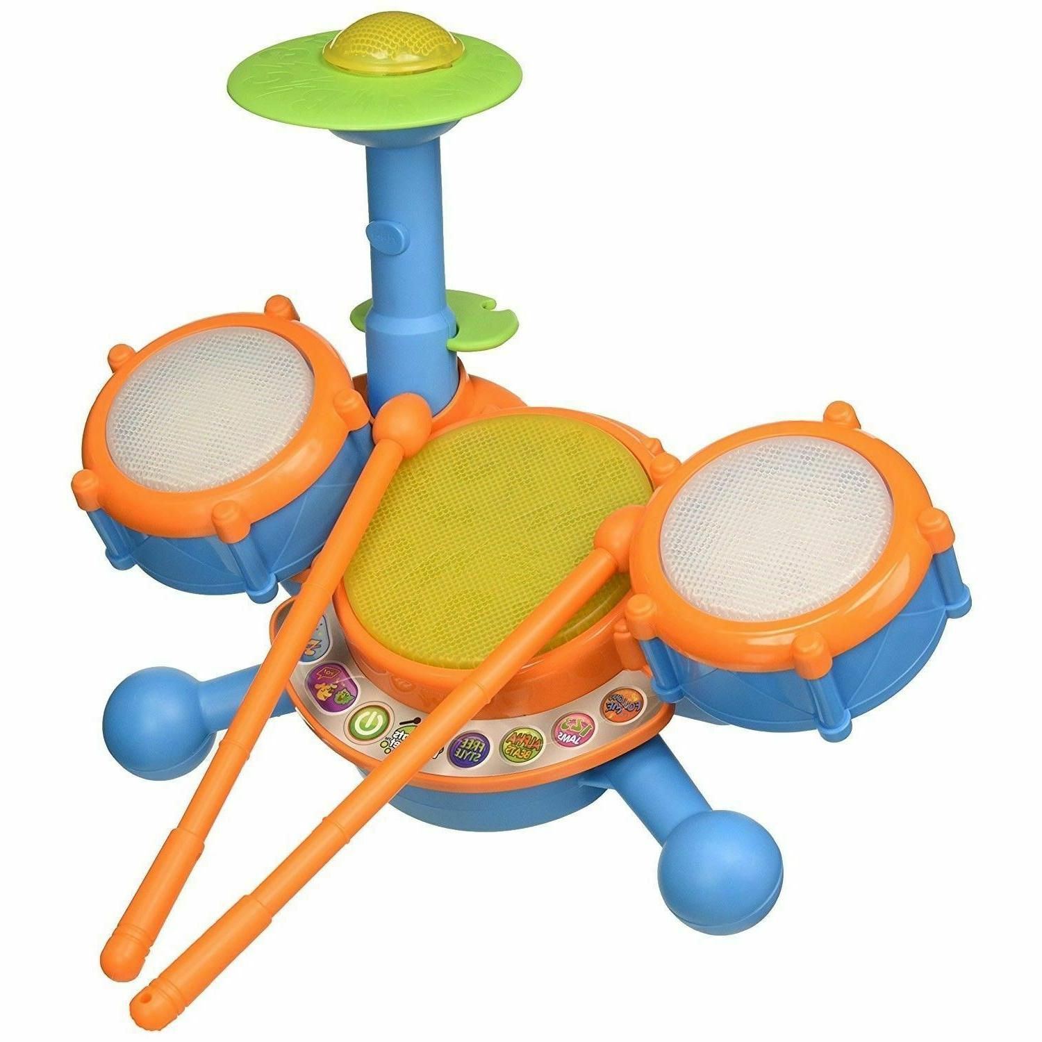 Educational Year Toddlers Boy Learning Drum Set