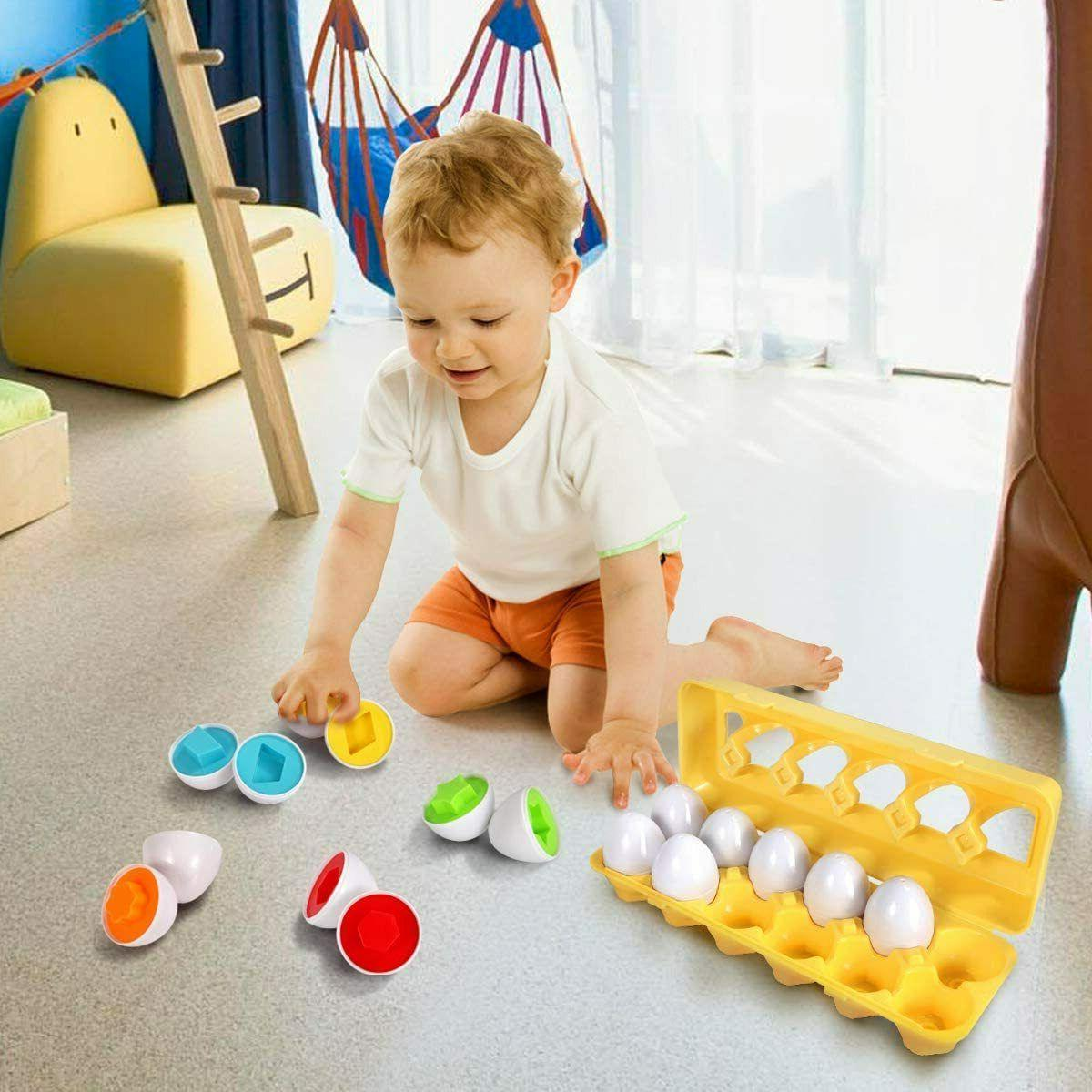 Educational Toys For 6 Months 1 2 3 year Old Boy Girl Color
