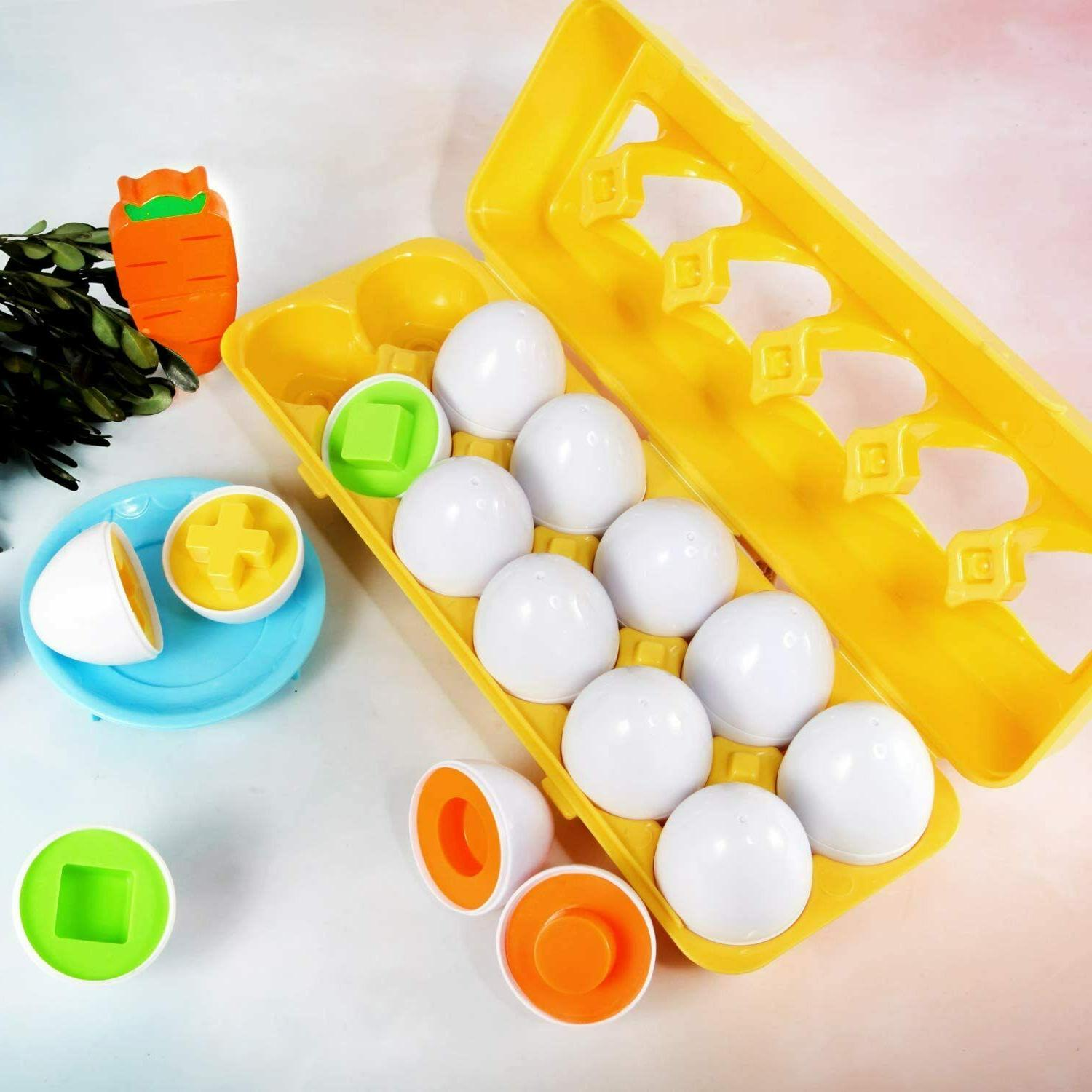 Educational Toys For 6 Months 1 3 year Girl Color Numbers Matching