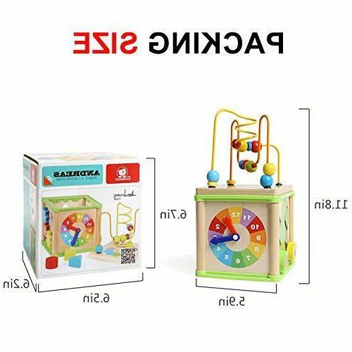 Educational Months 2 3 Year Toddler Activity Cube