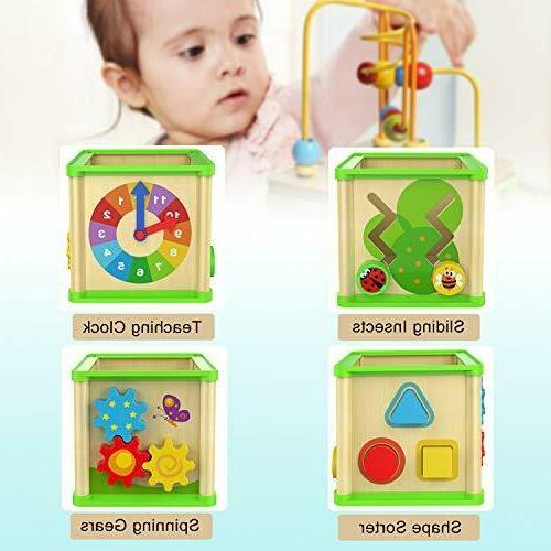 Educational Toys Months 2 Year Toddler Activity Cube