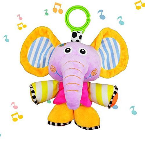 elephant animal musical plush toys