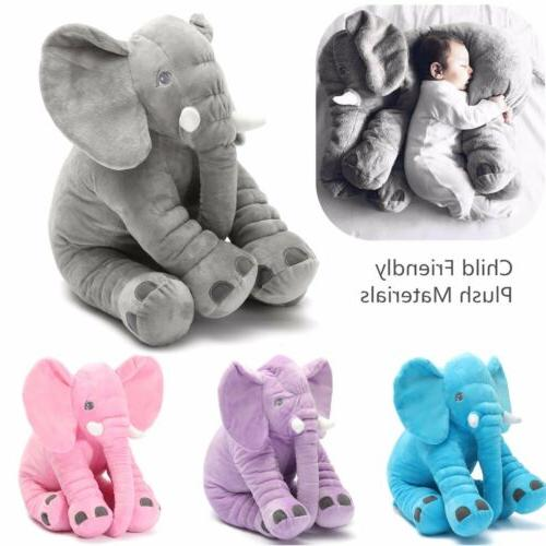 elephant pillow soft plush stuff toys lumbar