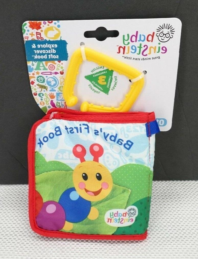 explore discover soft book toy