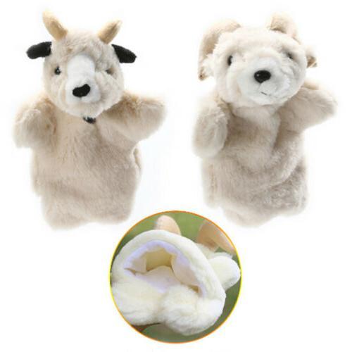 Vintage Kids Puppets Cartoon Animal Fashion Toys Doll Gloves CO