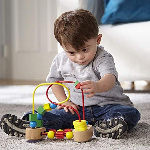 Melissa Doug Bead Maze Educational Toy