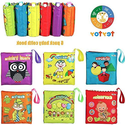 teytoy My Soft Book, Early Activity Crinkle Cloth for Toddler, and Kids Perfect for