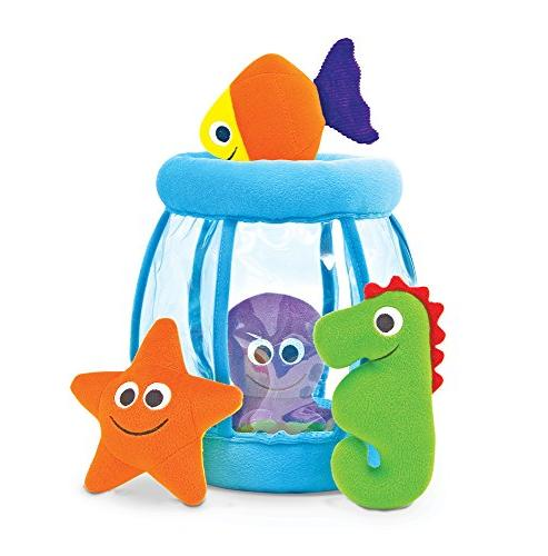 fishbowl fill spill soft toy