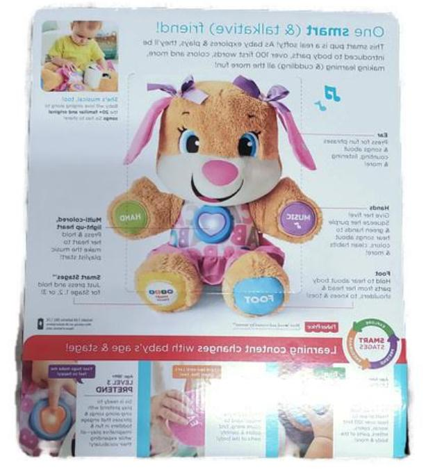 Fisher-Price FDF22 Laugh Learn Stages Sis Toy