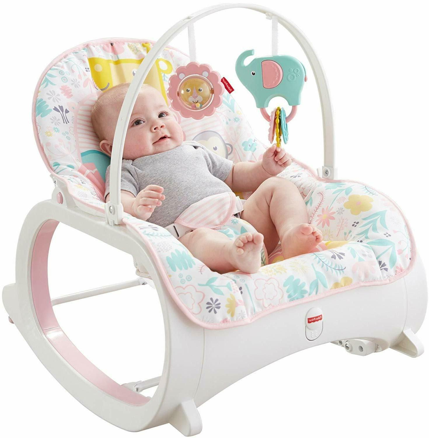 Infant to Toddler Rocker Chair Baby Vibrating Activity Play