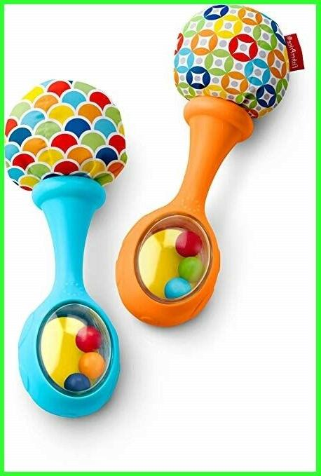 fisher price rattle n rock maracas blue