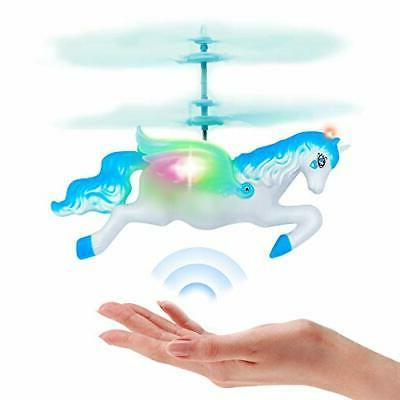 flying helicopter fairy unicorn toys gifts