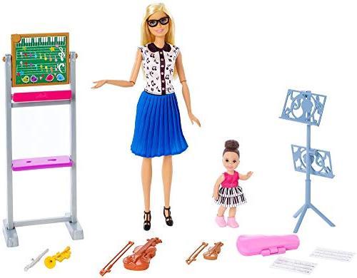 fxp18 music teacher doll playset