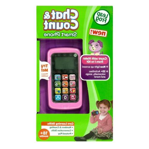 LeapFrog and Count Cell Violet