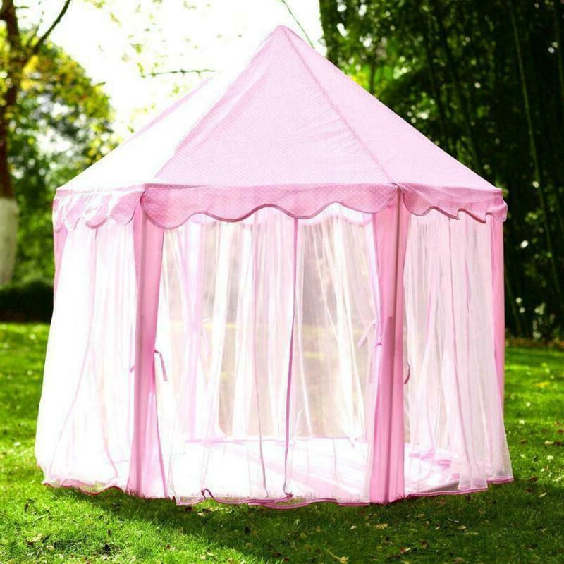 Girls Princess Cute Playhouse Play Outdoor