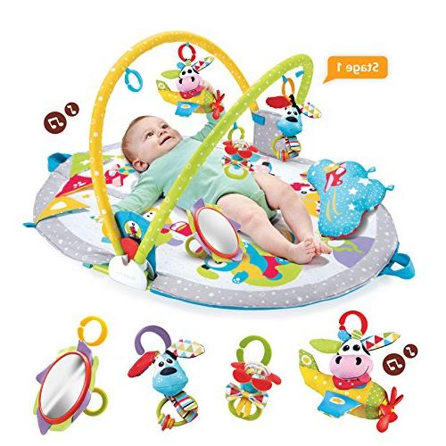 Yookidoo Sit-Up Mat Infant Activity 0 - 12