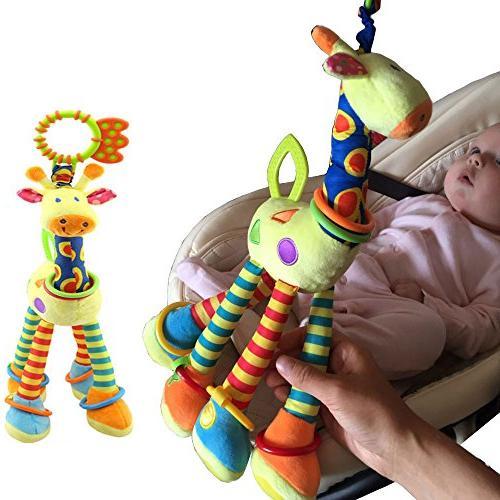 FOREAST Kids Toy Baby Plush Toys Developmental Birthday Present