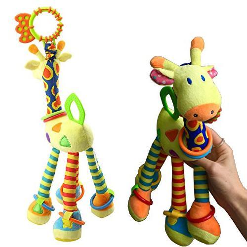 FOREAST Kids Rattles Toy Soft Toys Developmental Birthday Present