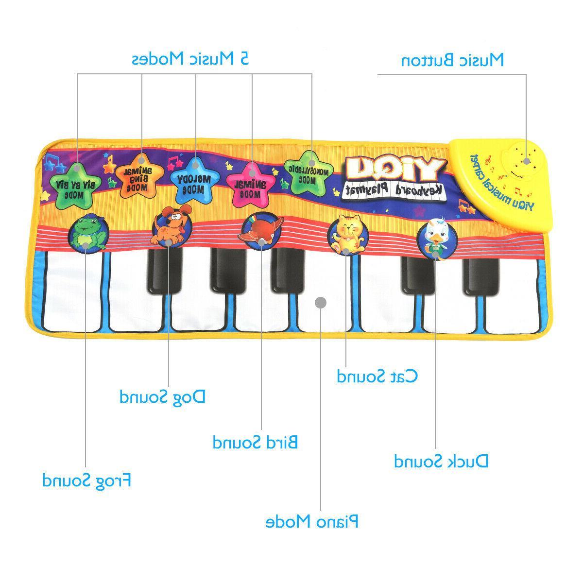 Baby Piano Development Musical Gym