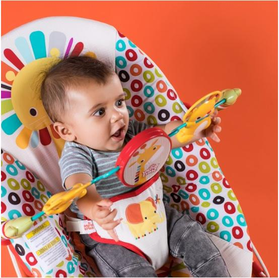 Infant To Rocker Seat Play Bar Chair New
