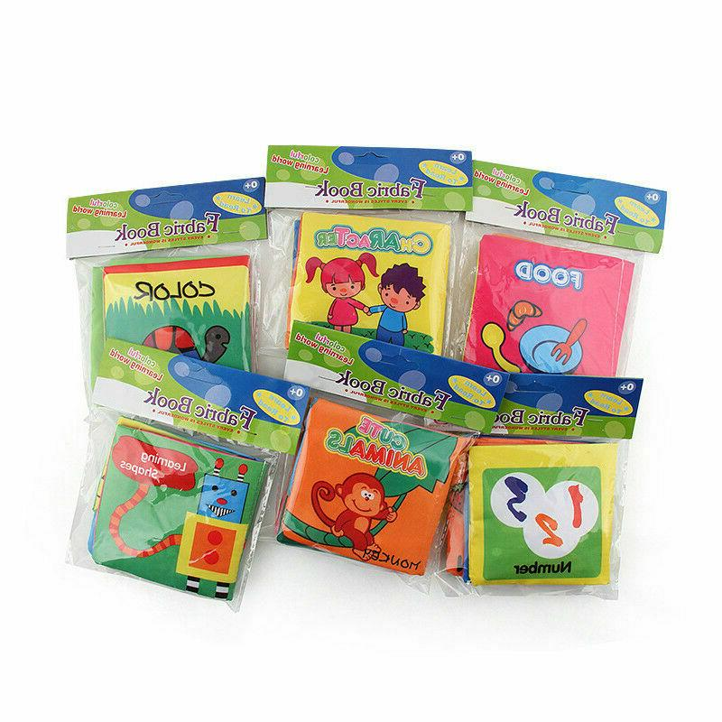 Intelligence Cloth Cognize Book Educational for child