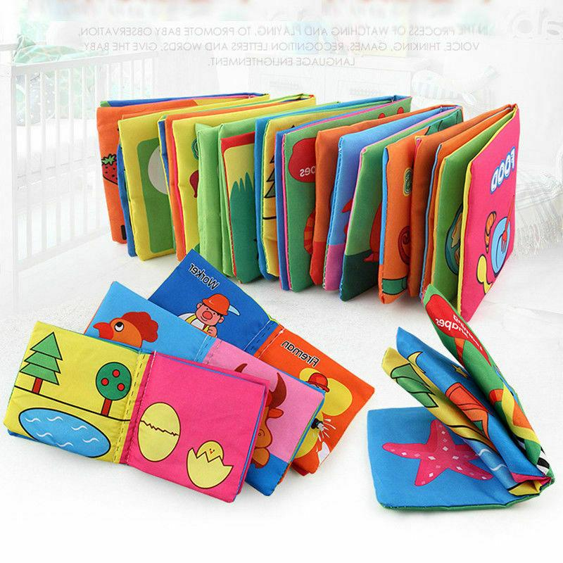 intelligence development cloth cognize book educational toy