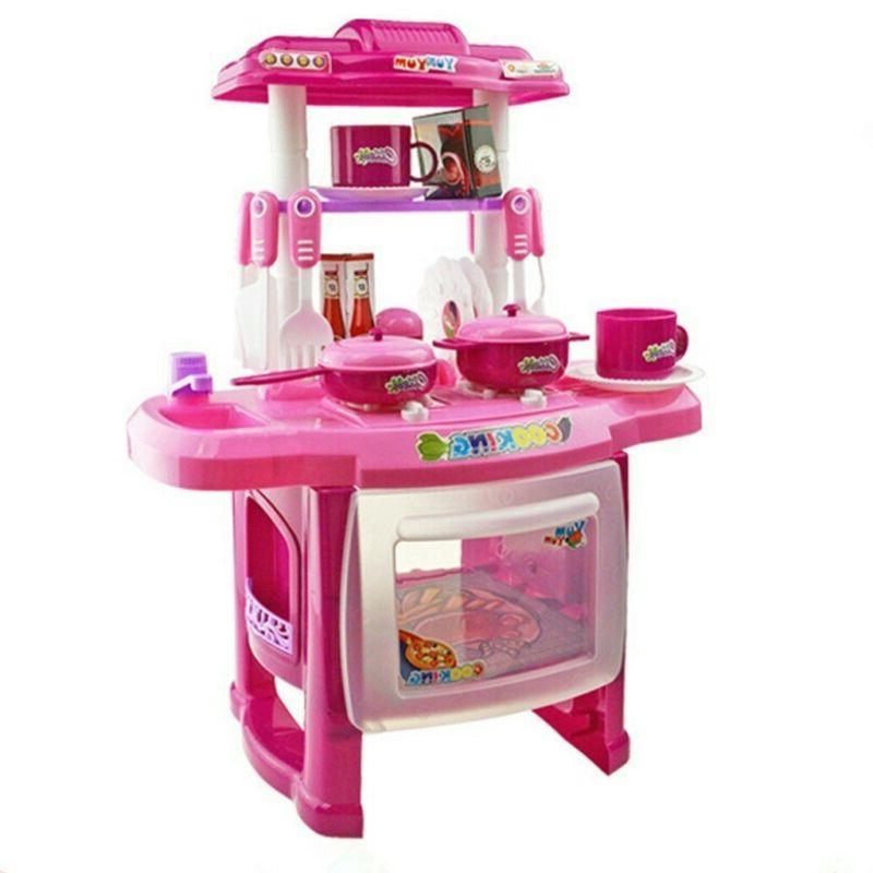 Interesting Kitchen Set Children's Home kid cooking toys