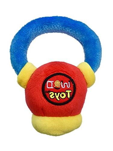 WOD Toys Baby Plush with Rattle Toy for Newborns, and