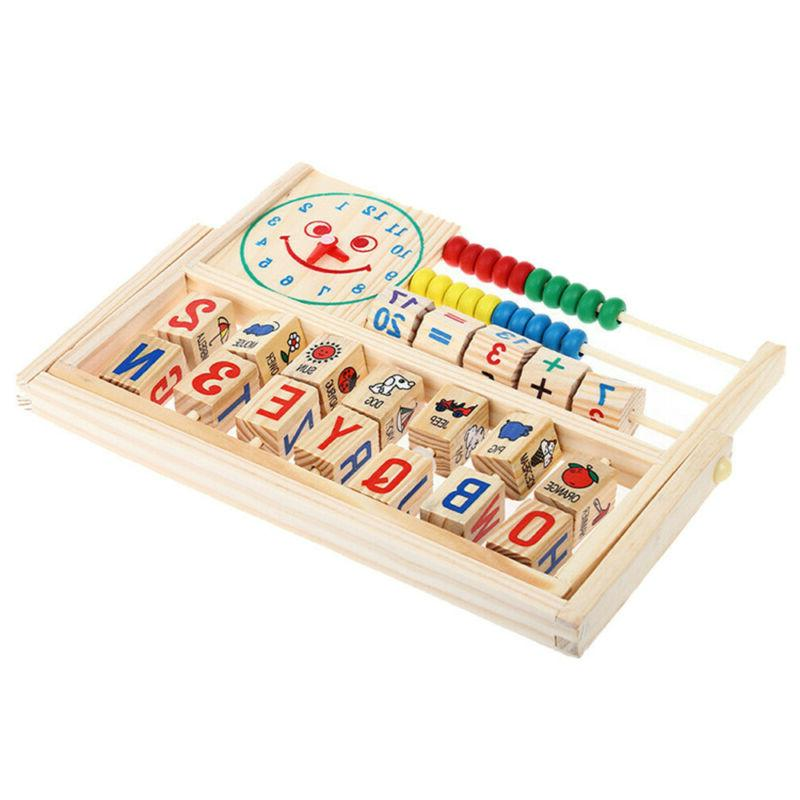 Kids Baby Learning Wooden Toys