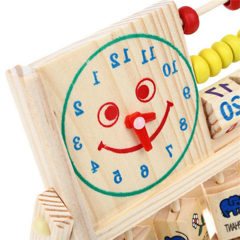 Kids Early Educational Abacus Wooden Toys