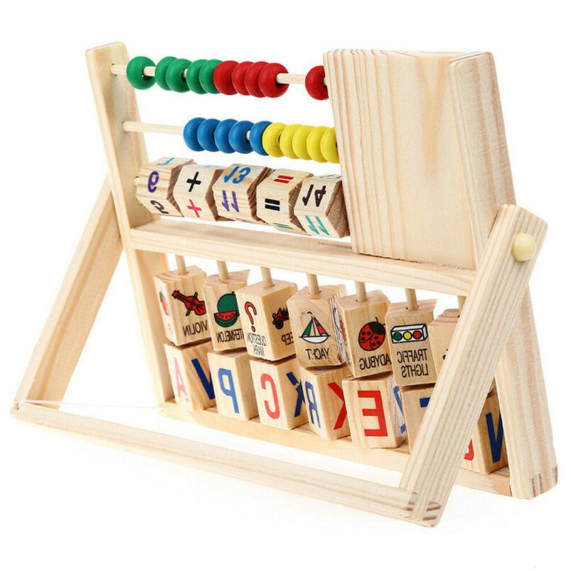 Kids Learning Early Educational Wooden Toys