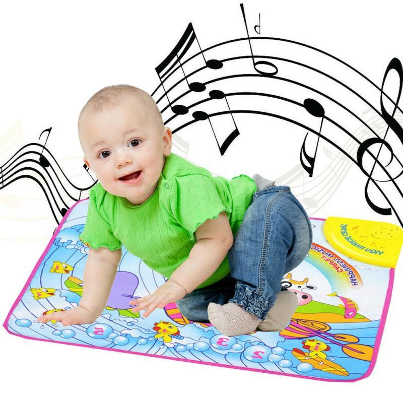 kids baby musical piano play mat development