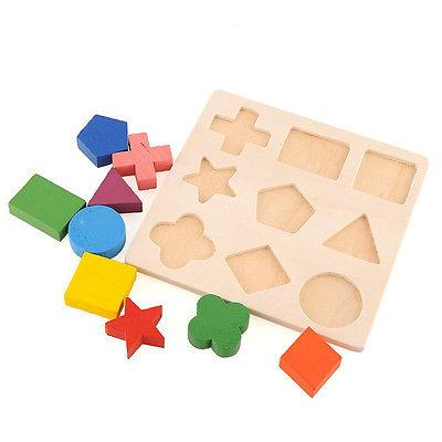 Kids Wooden Educational Toys Montessori Early Learning