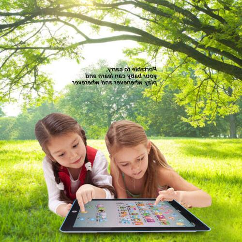 Tablet Kid English Educational Teach Toy Gift